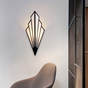 """Fox's Tail"" Wall Lamp"