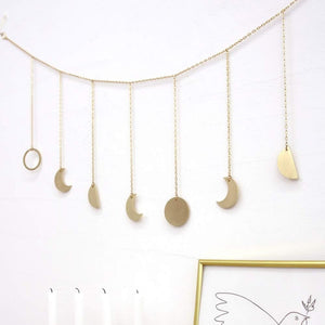 Moon phases Wall Hanging Pendant