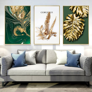 """Golden Leaves"" Canvas Limited Edition Collection"