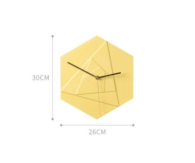 """Ionic"" Wall Clock Creative Collection"