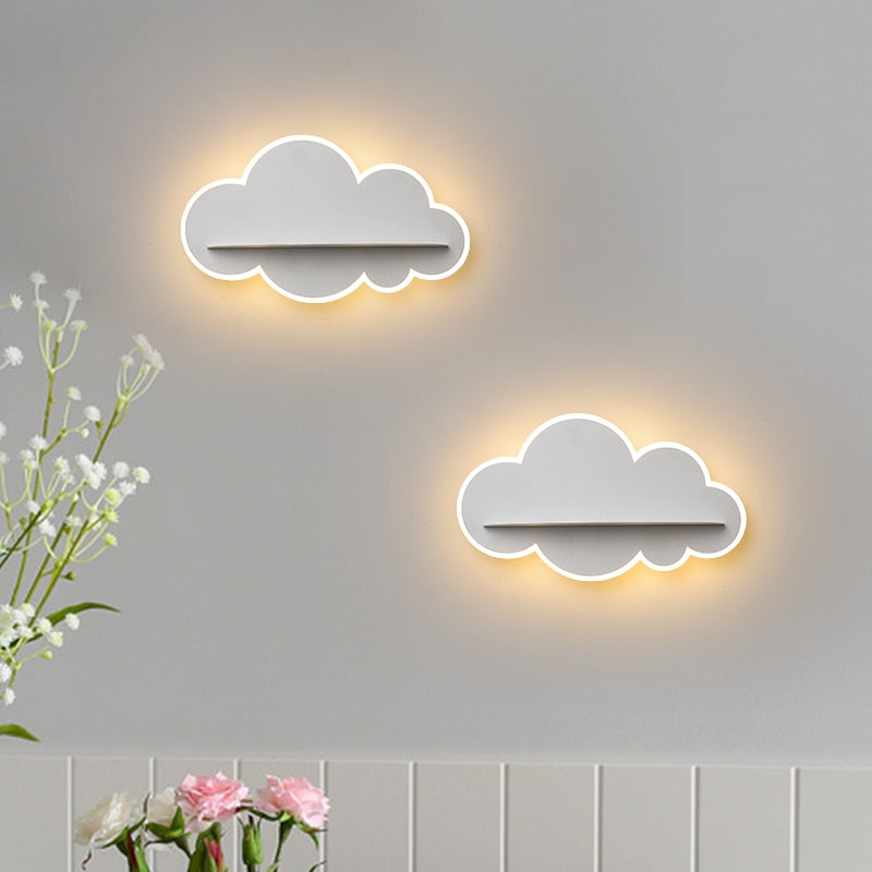 """Dream Counters"" Wall Lamp-Shelves Creative Collection"