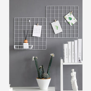 Multi-function Wall Organizer with clips