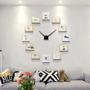 """Memories o'clock"" Collage Set DIY Wall Clock"
