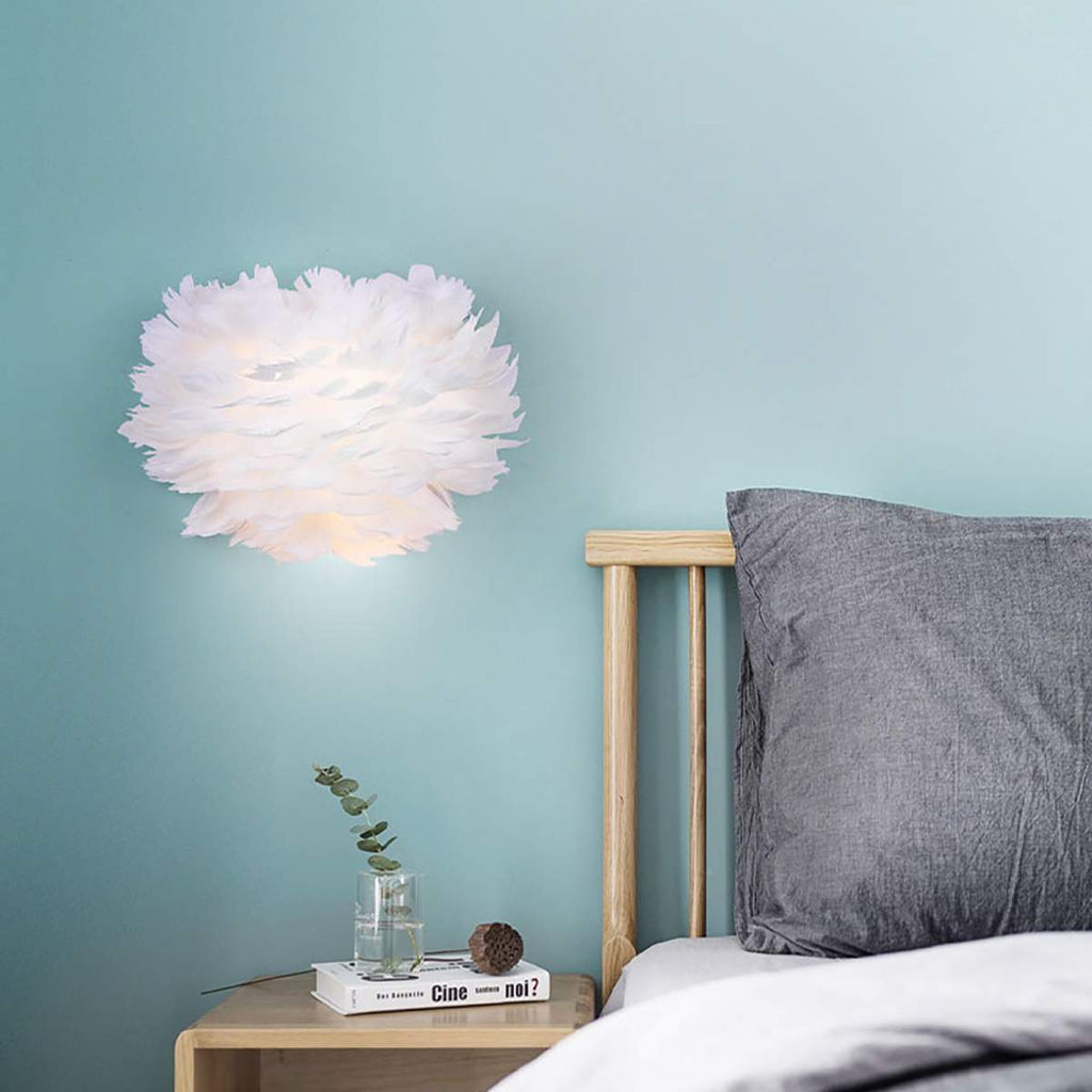 """Featherly"" Wall Lamp Creative Limited Edition Collection"