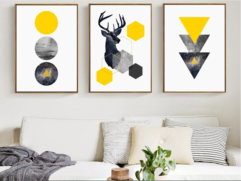 """Geometric Art"" Poster Collection"