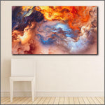 """Color Storm"" Wall Canvas Art Collection Limited Edition"