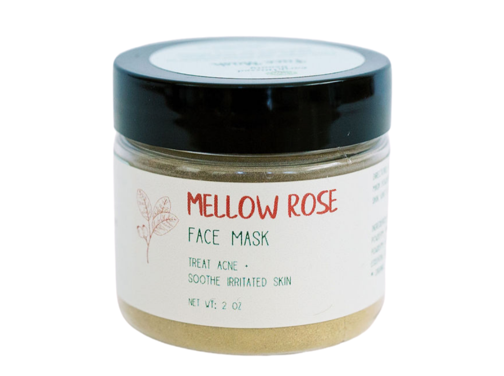 Mellow Rose Face Mask
