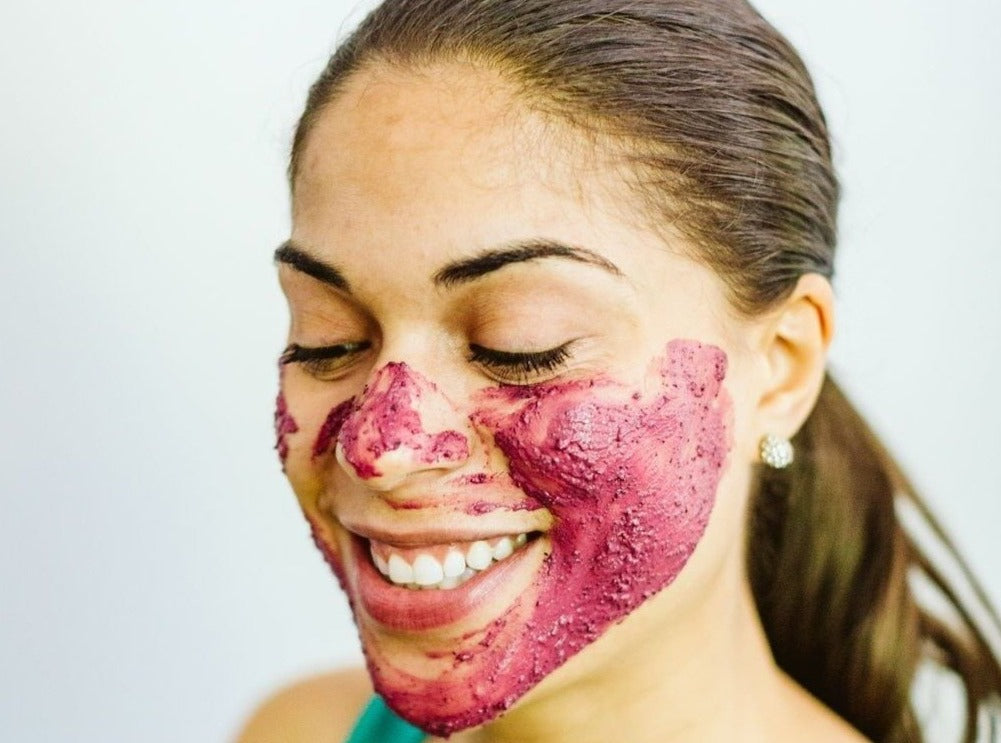 Hibiscus Glow Face Mask - Earth-Kissed Beauty