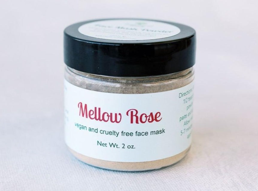 Mellow Rose Face Mask - Earth-Kissed Beauty