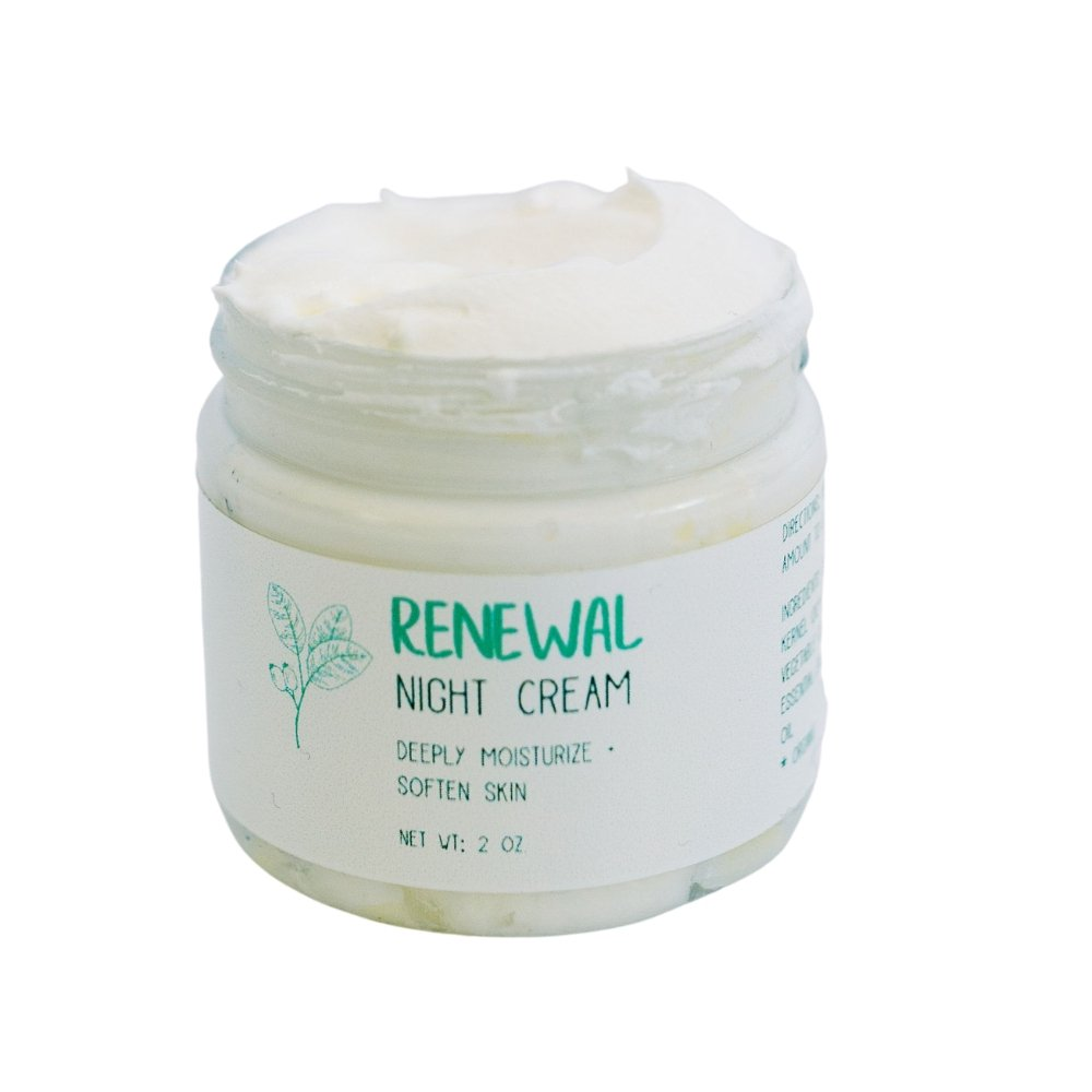 Renewal Night Cream - Earth-Kissed Beauty