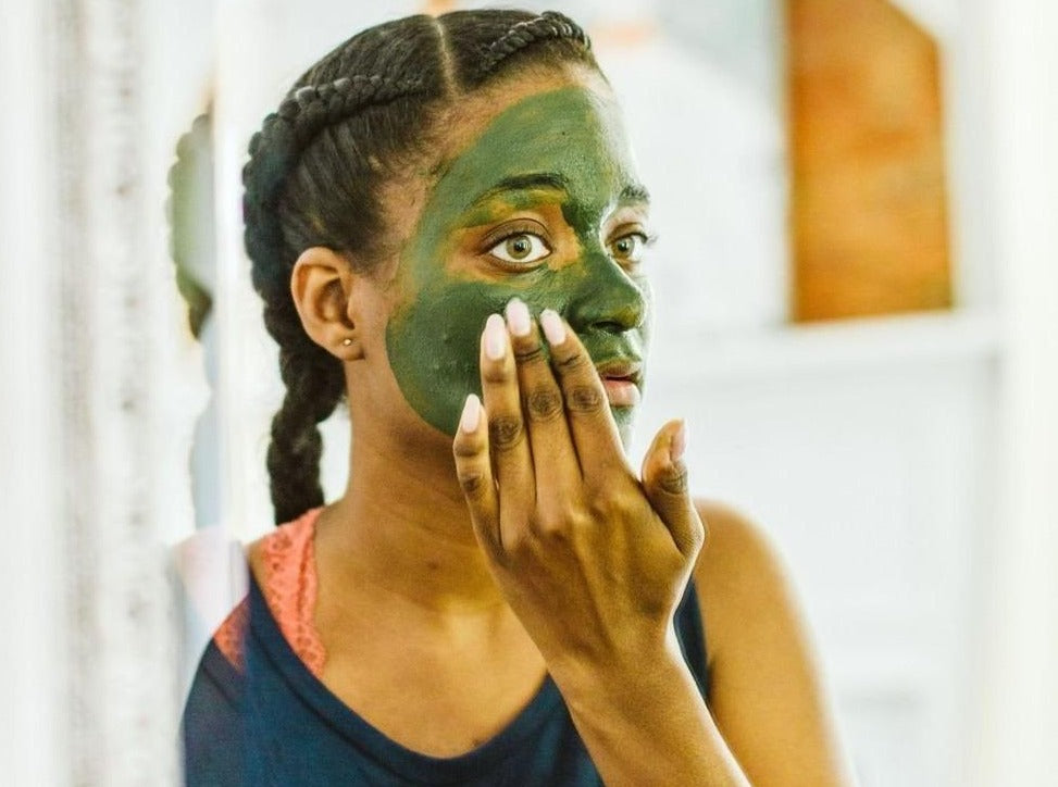 Sea Matcha Face Mask - Earth-Kissed Beauty