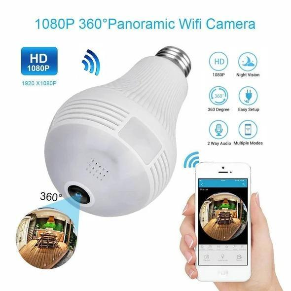 Eagle Eye - 360° Panoramic Security Bulb