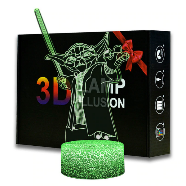 Star Wars YODA 3D Night Lamp