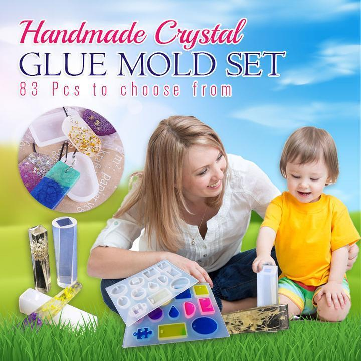 Handmade Crystal Glue Mold Set