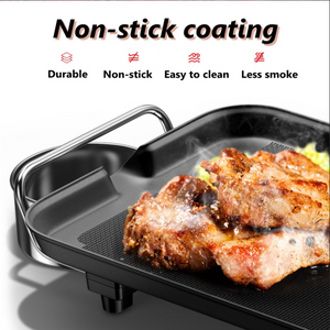 Smart Nonstick Electric Grill Pan