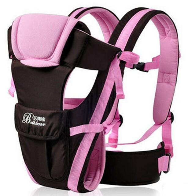 0-30 Months Breathable Front Facing Baby Carrier 4 in 1 Infant Comfortable Sling Backpack