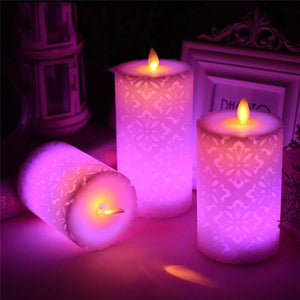 Flameless Electronic LED Candle Night Light