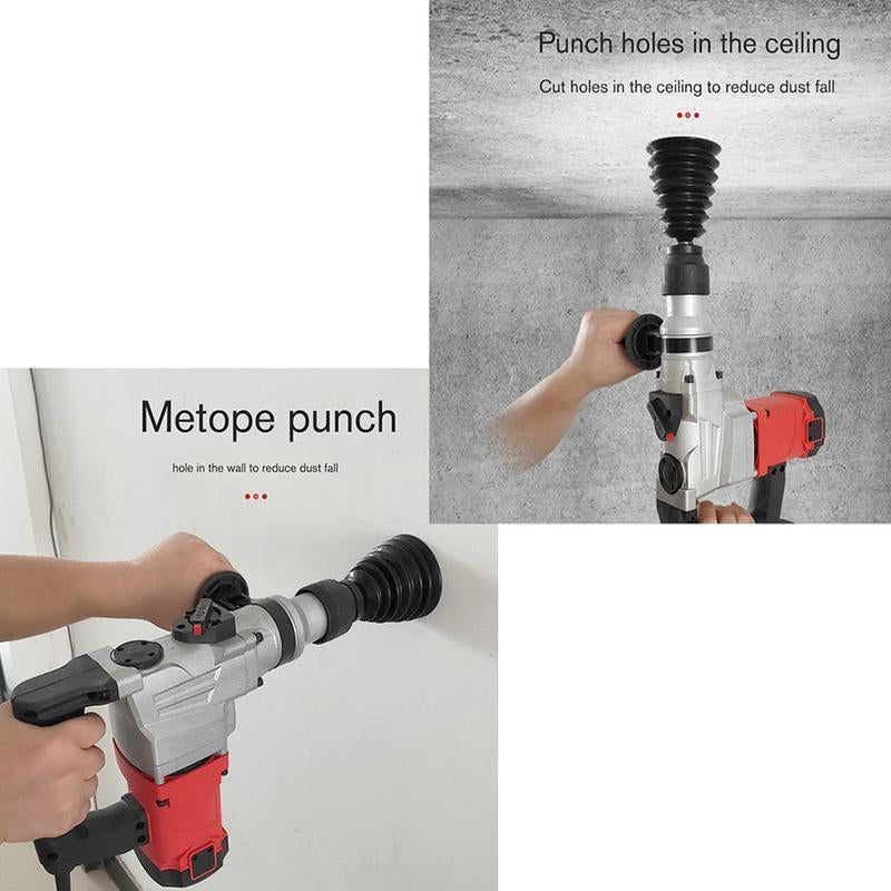 Silicone Drill Dust Collector Power Tool