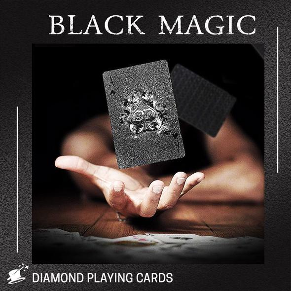 BlackMagic Diamond Playing Card