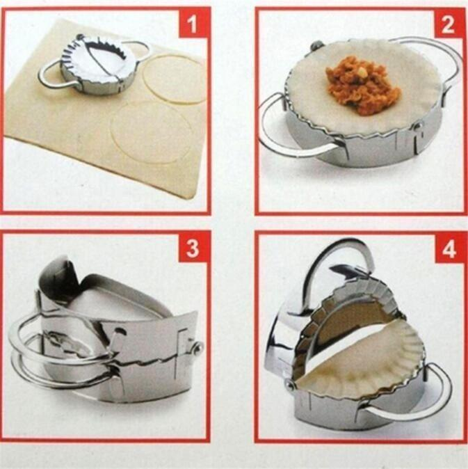 Eco-Friendly Pastry Tools Stainless Steel Dumpling Maker