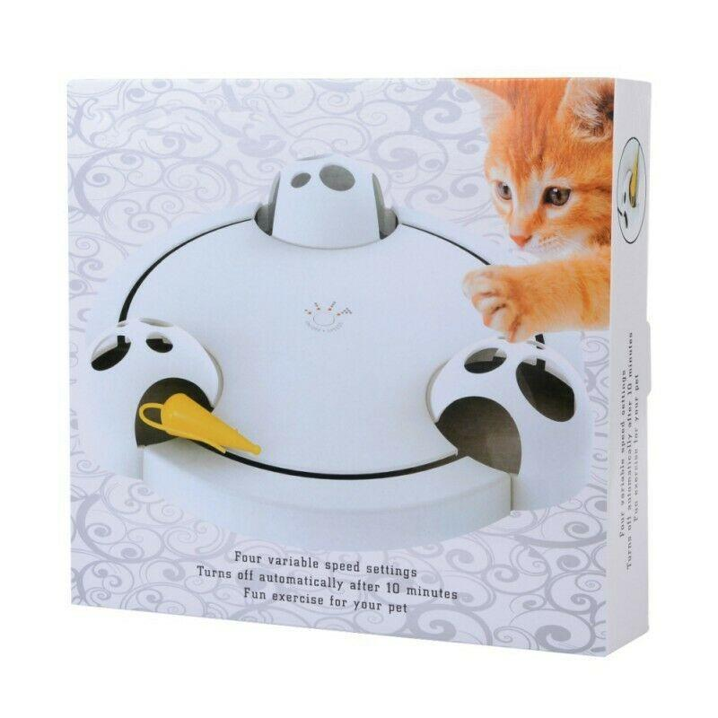 Cat Interactive Rotating Mouse Toy