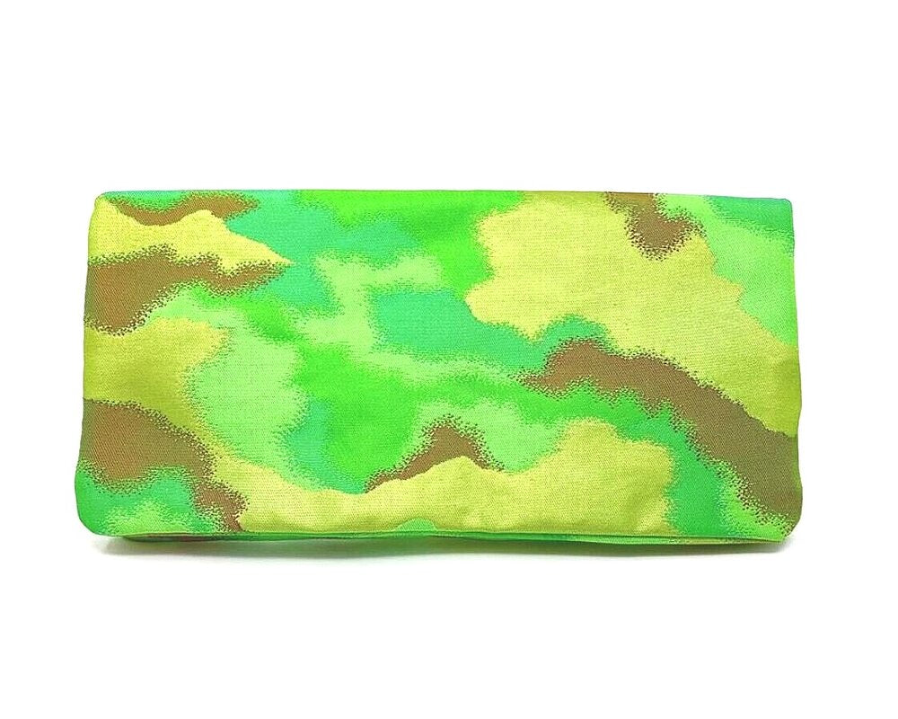 Green with Envy - Handmade Envelope Clutch Purse