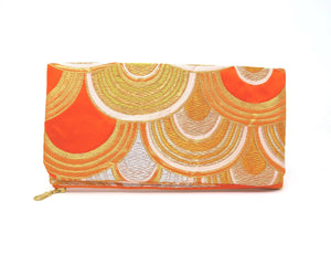 Main Squeeze - Handmade Foldover Clutch Purse