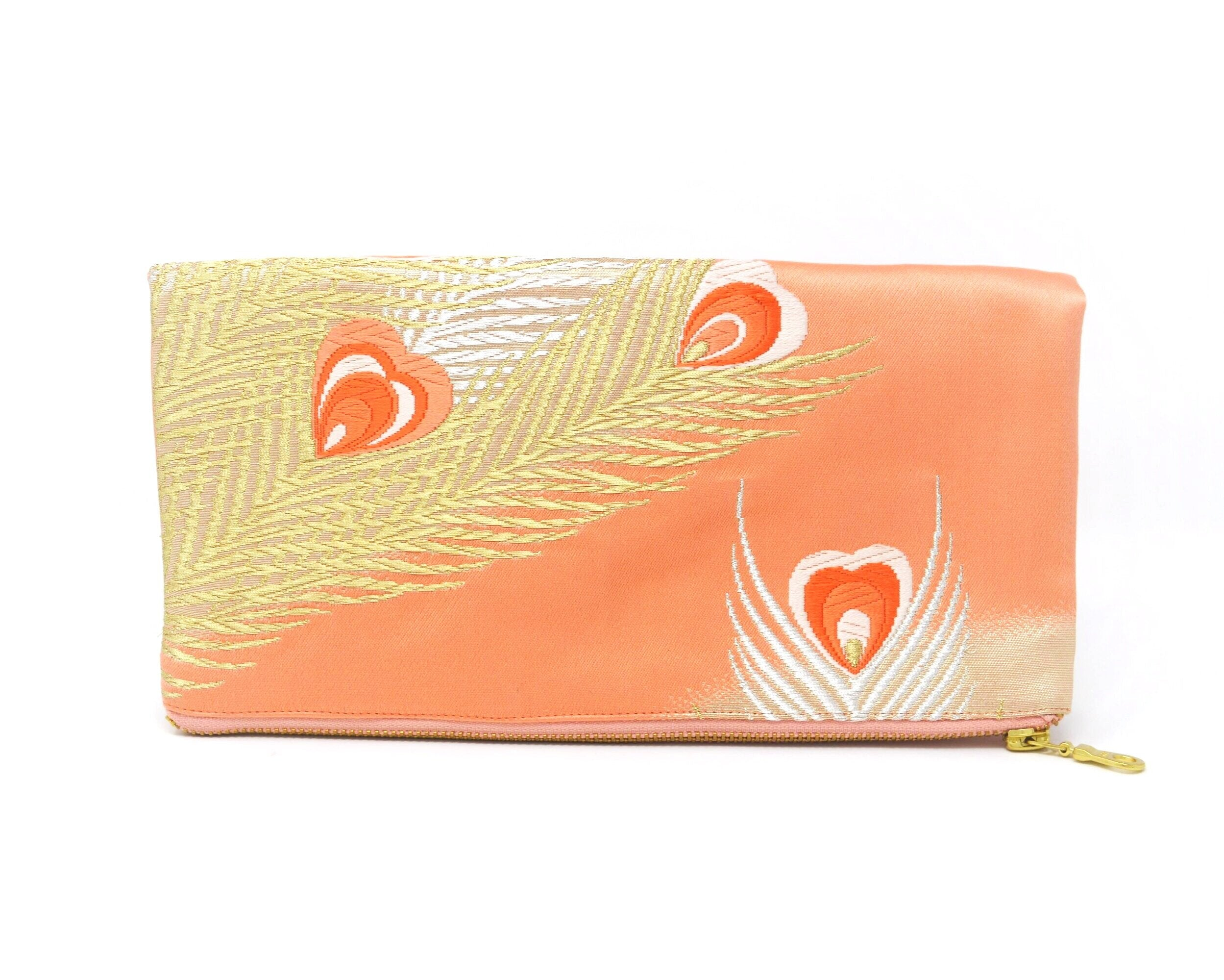 Tickled Pink - Handmade Foldover Clutch Purse