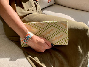 High Spirits - Handmade Envelope Clutch Purse