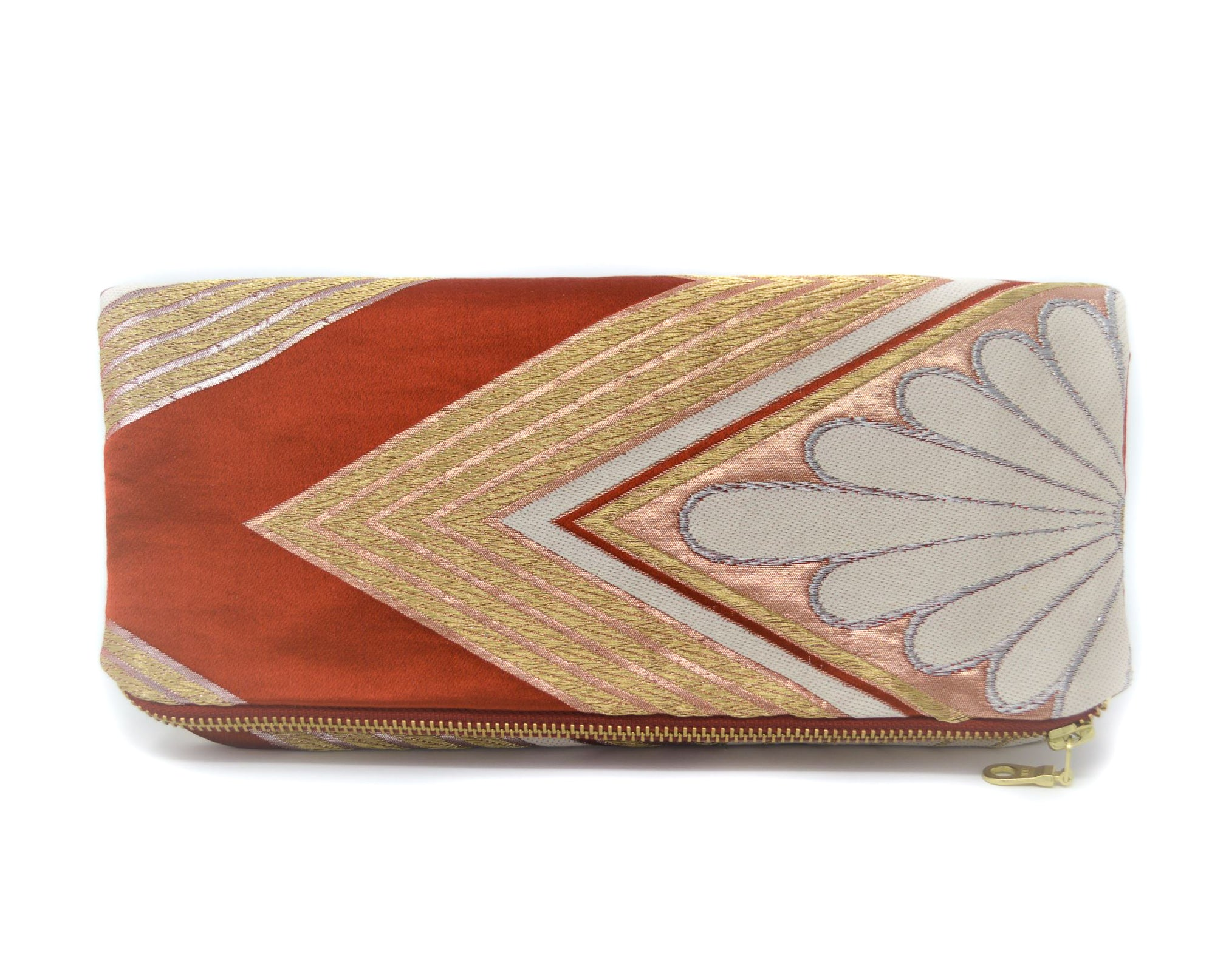 It's Electric - Handmade Foldover Clutch Purse