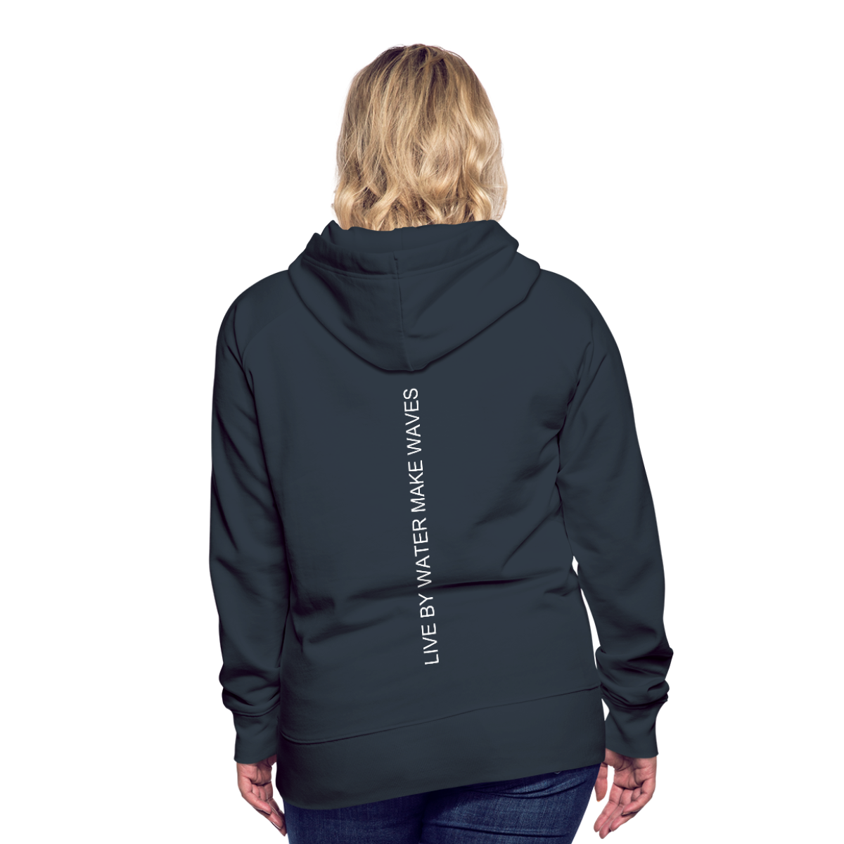 Beach Life-Live by Water 2-sided Women's Hoodie