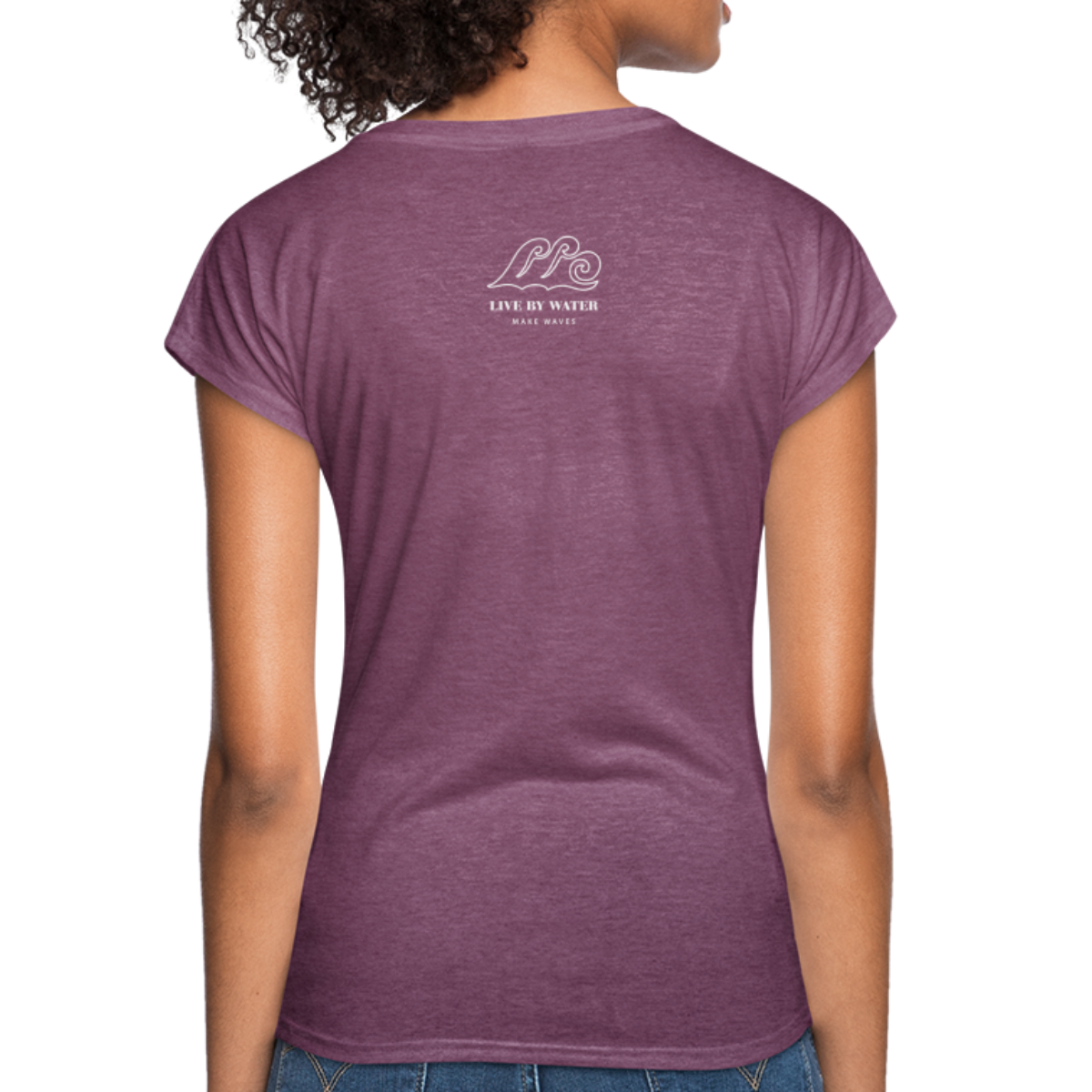 Be Inspired by the Water-Women's 2-sided V-Neck T