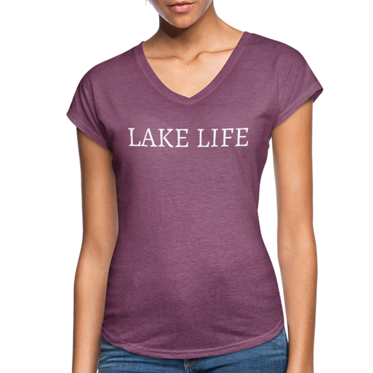 Lake Life-Live by Water 2-sided Women's T
