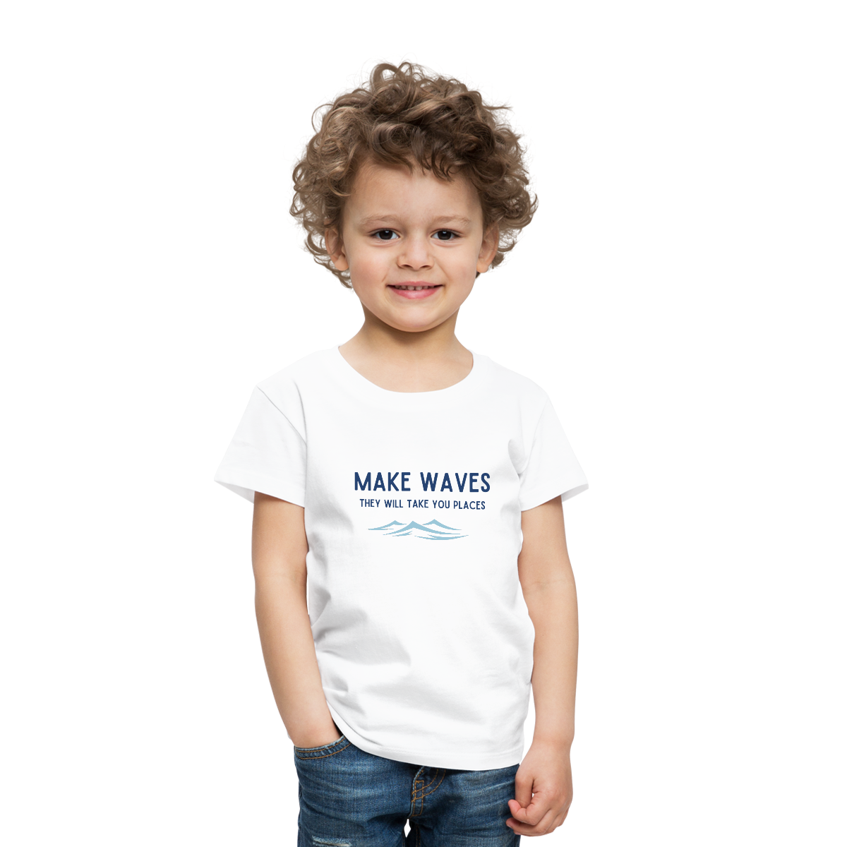 Make Waves, they will take you places - Toddler T