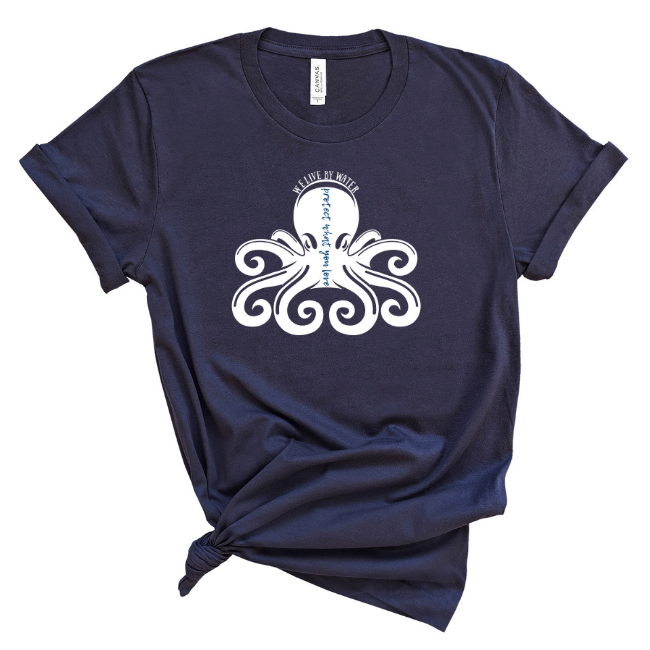 Protect What you Love/Octopus-2-sided T