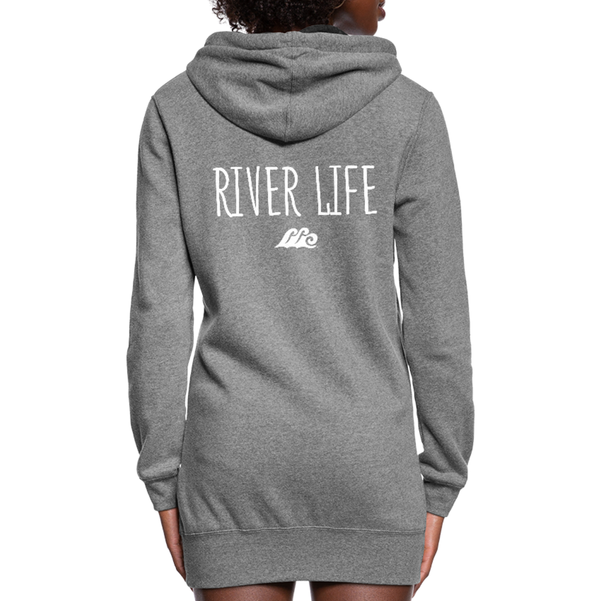 River Life-Women's Hoodie Dress