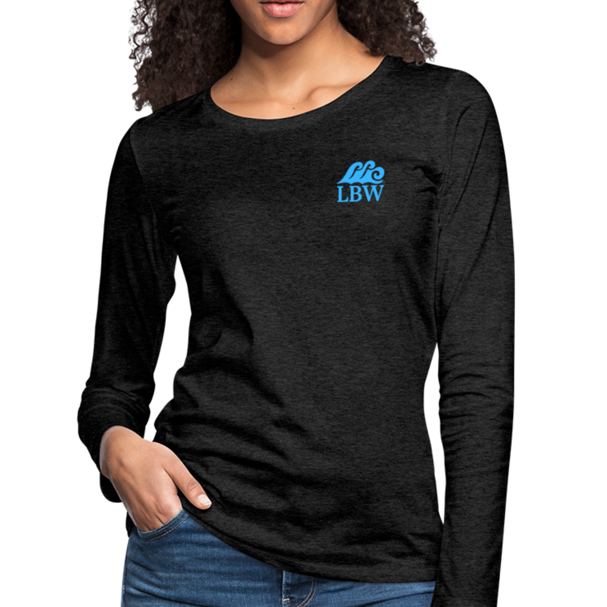 """The Kelsey"" Save the Turtles-Women's 2-sided Long Sleeve T"