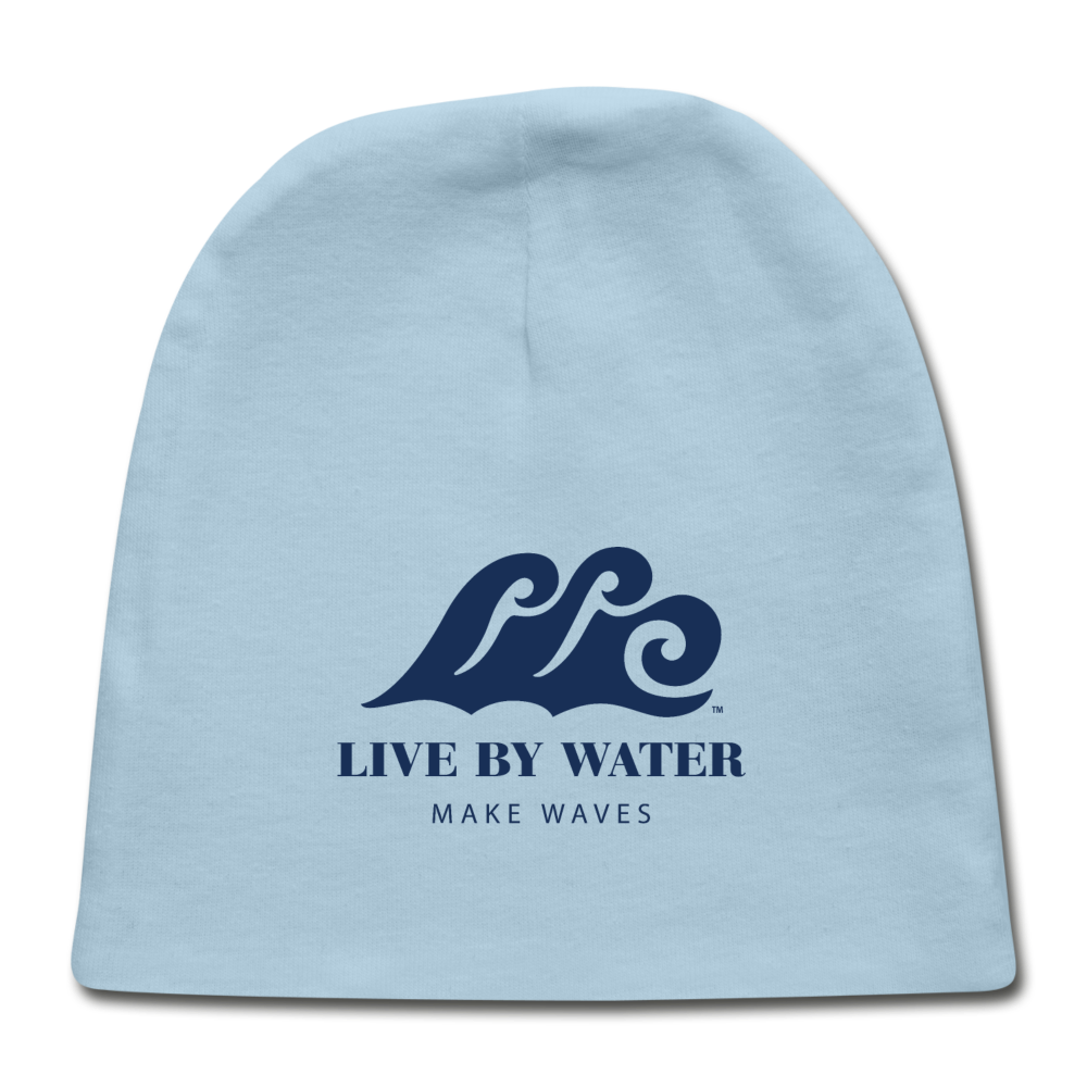 Beach Baby Beanie - light blue