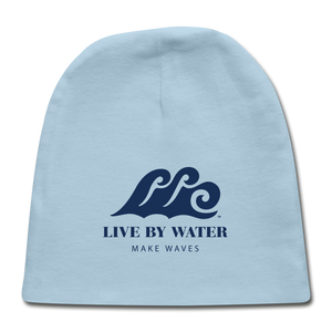 Open image in slideshow, Beach Baby Beanie - light blue