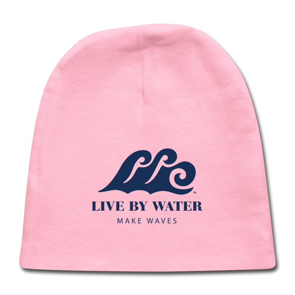 Beach Baby Beanie - light pink