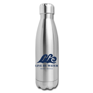 Open image in slideshow, Water Bottle - Classic Logo - silver