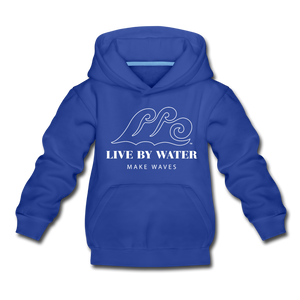Open image in slideshow, Classic Logo - Kids' Hoodie - royal blue