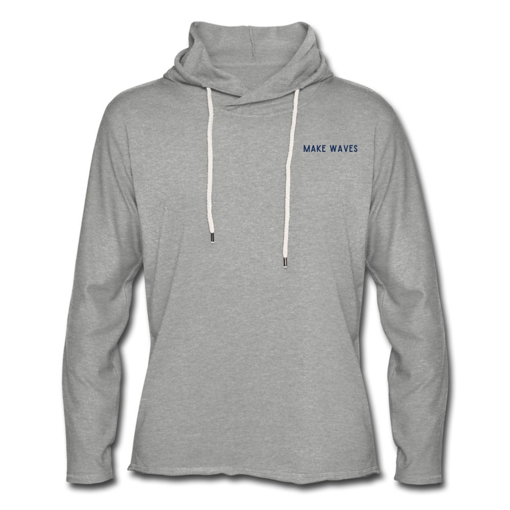 Men's Lightweight Terry Hoodie - heather gray