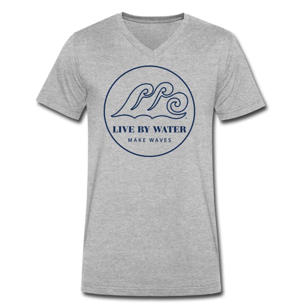 Wear with Everything Favorite White T-Classic Logo - heather gray