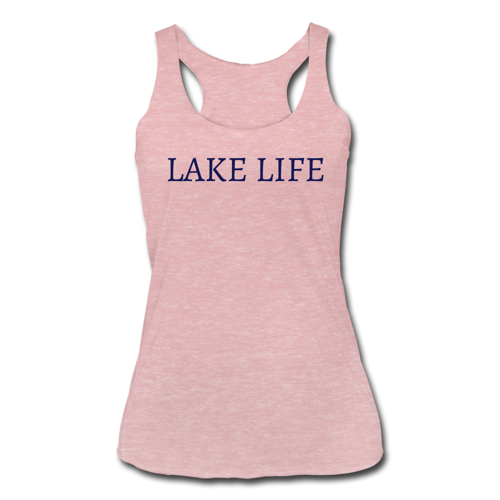 Lake Life-Make Waves 2-sided Women's Tank - heather dusty rose