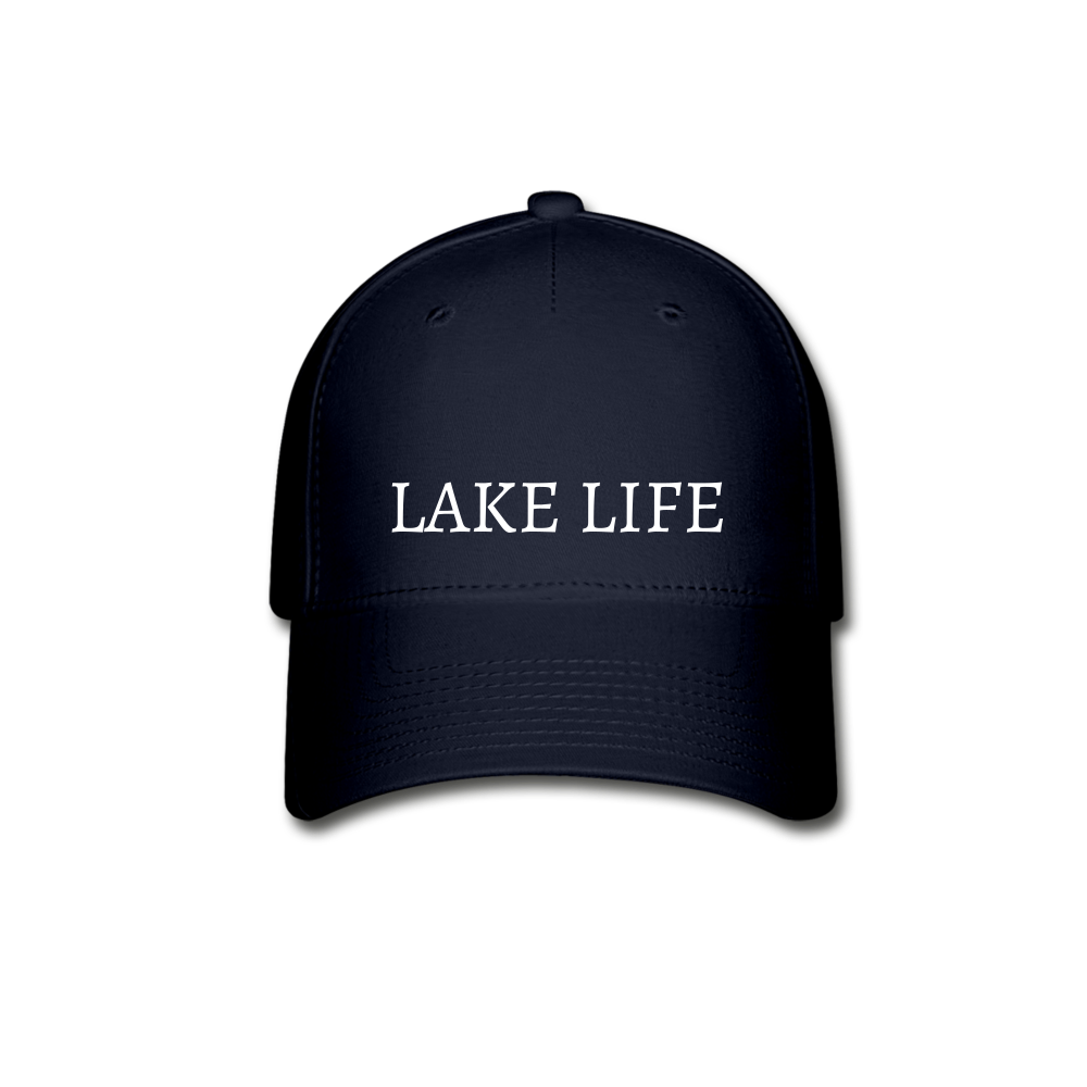 Lake Life-Baseball Cap - navy