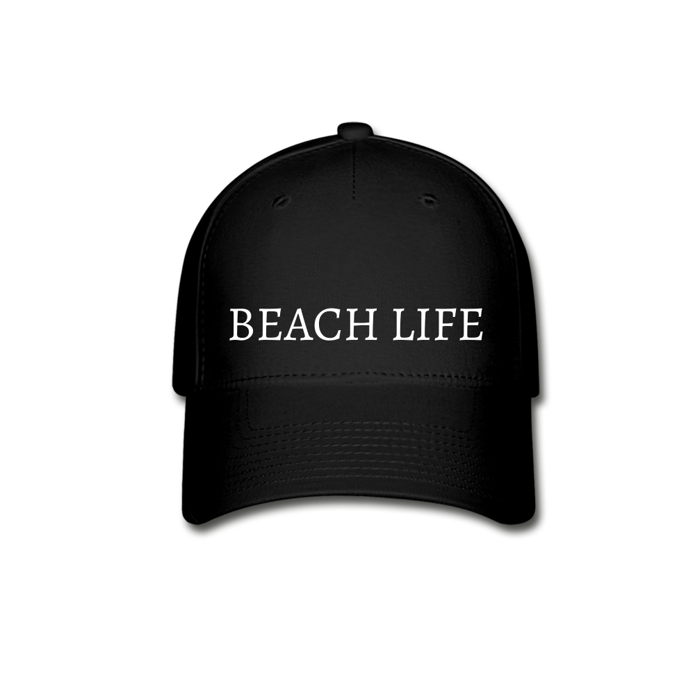 Beach Life-Baseball Cap - black