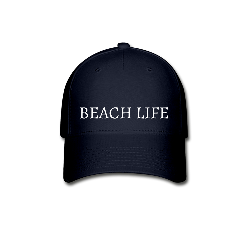 Beach Life-Baseball Cap - navy