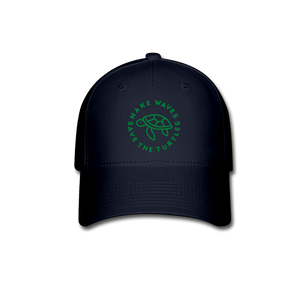 Save the Turtles-Baseball Cap Green - navy