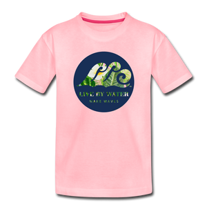 Open image in slideshow, Tropical Classic Logo - Toddler T-Shirt - pink